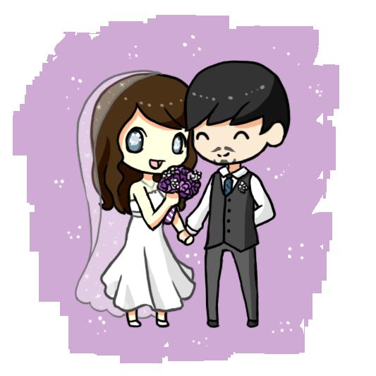Wedding Commission by LVStarlitSky