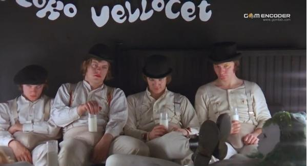 Alex and his three droogs. by Lakyumorion