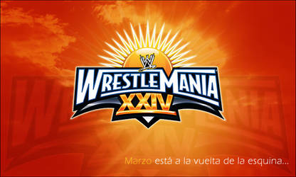 wrestlemania 24 warm up...