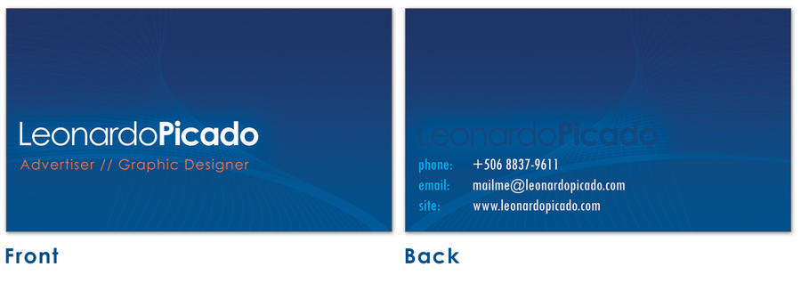 new bluesiness cards by leopic