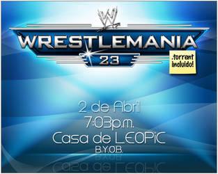 WM 23 Invitation by leopic