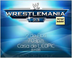 WM 23 Invitation