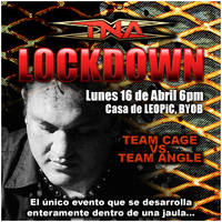 TNA Lockdown Party Invitation by leopic