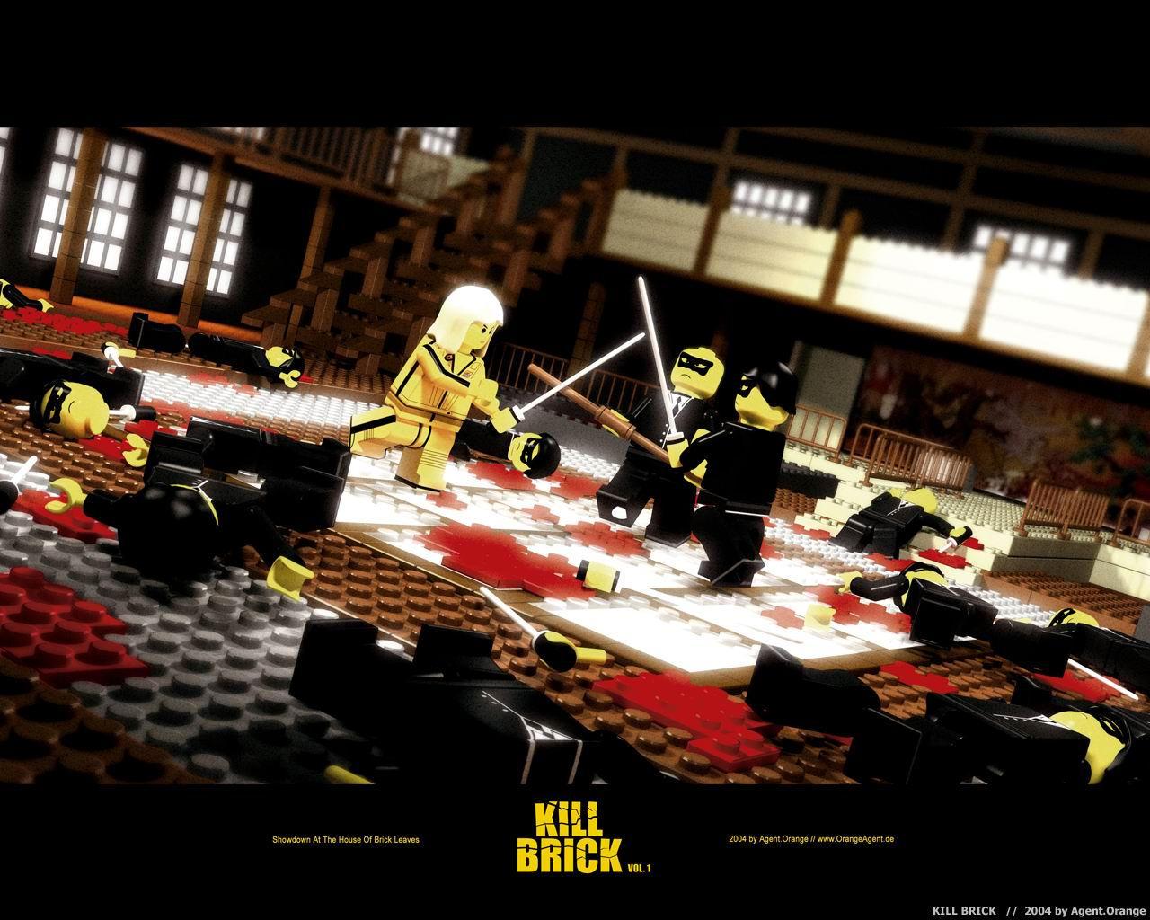 Kill Brick - Vol. 1 by orangeagent