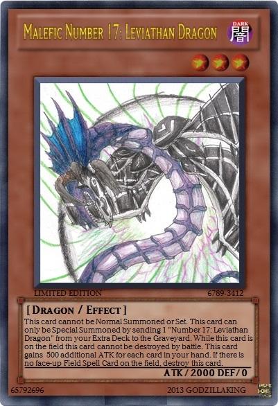 Malefic Number 17: Leviathan Dragon by kari343 on DeviantArt