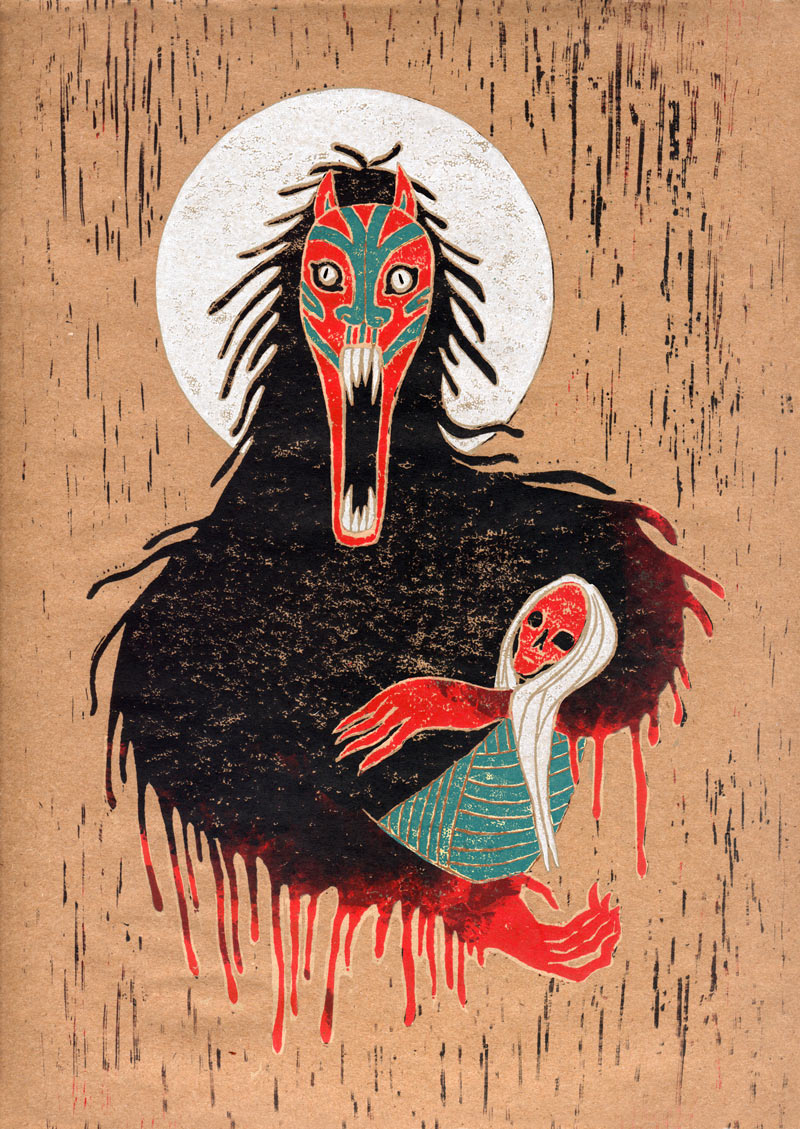 Ghoul by ton-dieu-noir