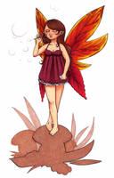 Automn fairy for Margaux by Diabolo-menthe