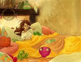 sweet warm nest by Diabolo-menthe