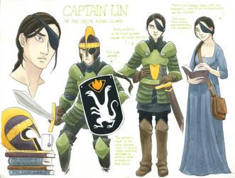 Chara sheet - Captain Lin by Diabolo-menthe
