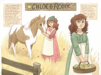 Chloe et Romy by Diabolo-menthe
