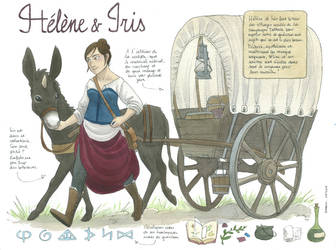 Helene and Iris by Diabolo-menthe
