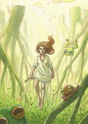 Mangrove queen