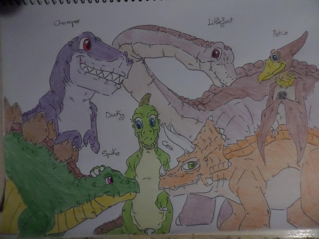 the lbt cast grown up from the land before time favourites by