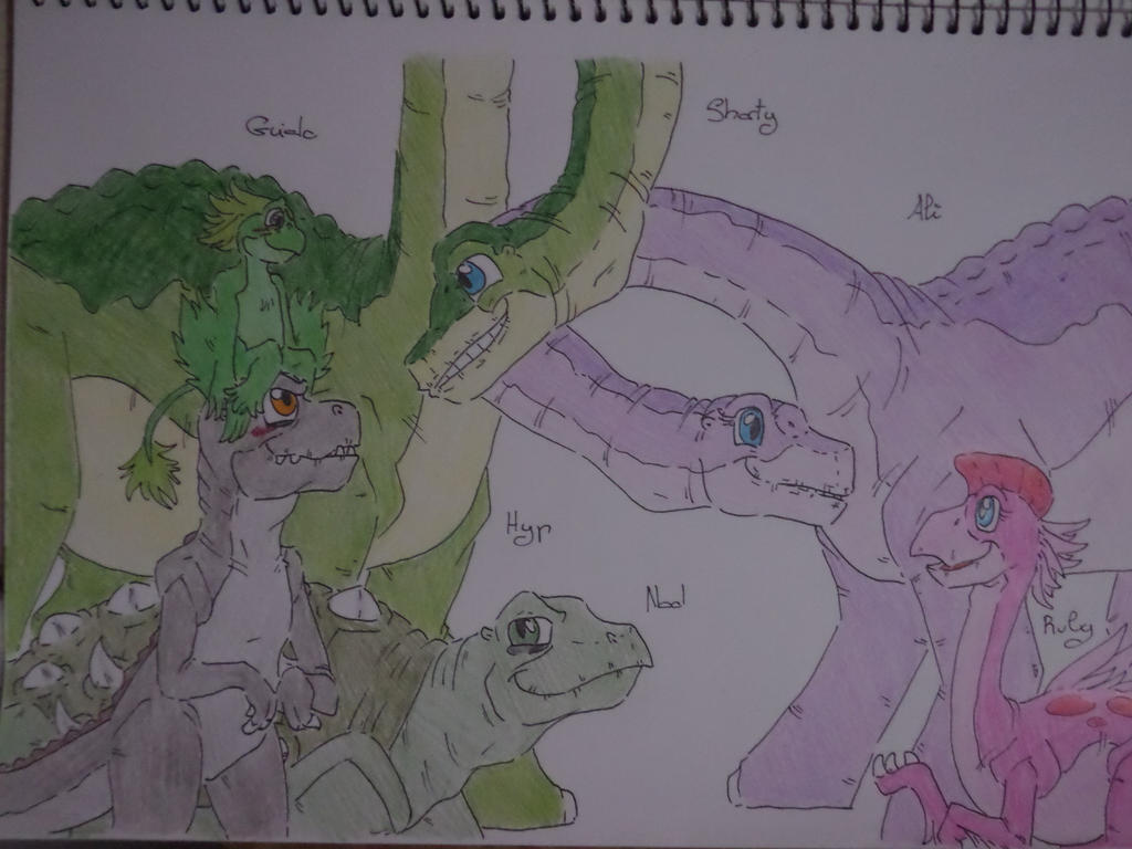 the land before time 2 by tejedora on deviantart