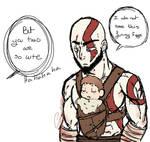 Dad of War - Sketch