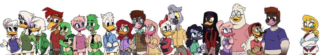 Ducktales Young-Adults