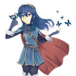 Lucina - Princess of the Future by Reyna-Mirai