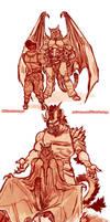 Gargoyles AU
