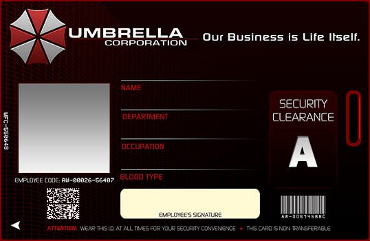Umbrella Corp. ID