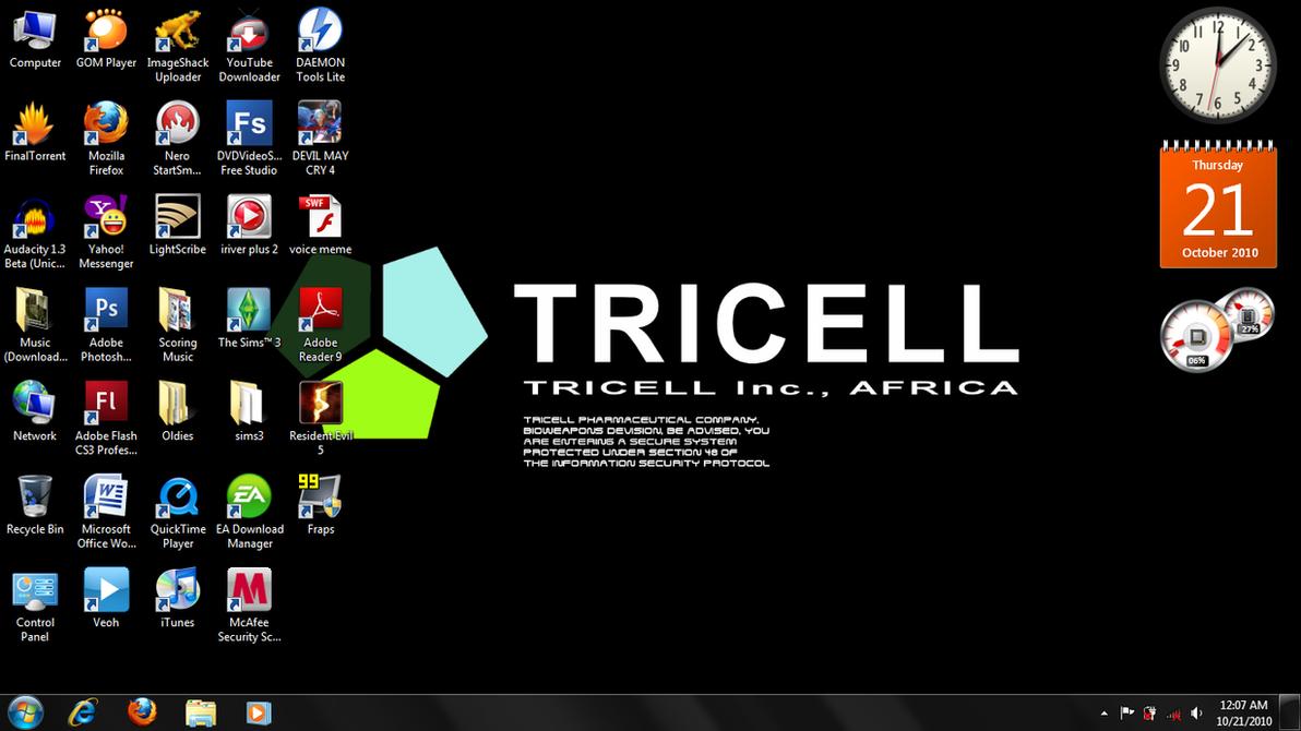 Desktop Screenshot by bryzunovrokks