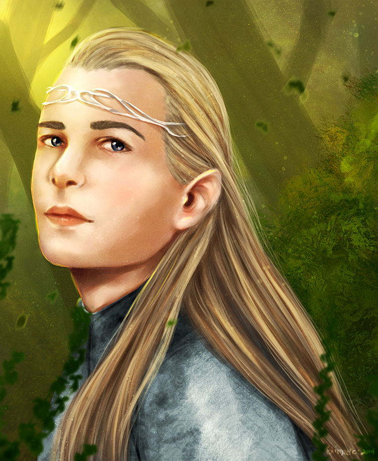Legolas Wallpaper: Legolas By Bryzunovrokks On DeviantArt