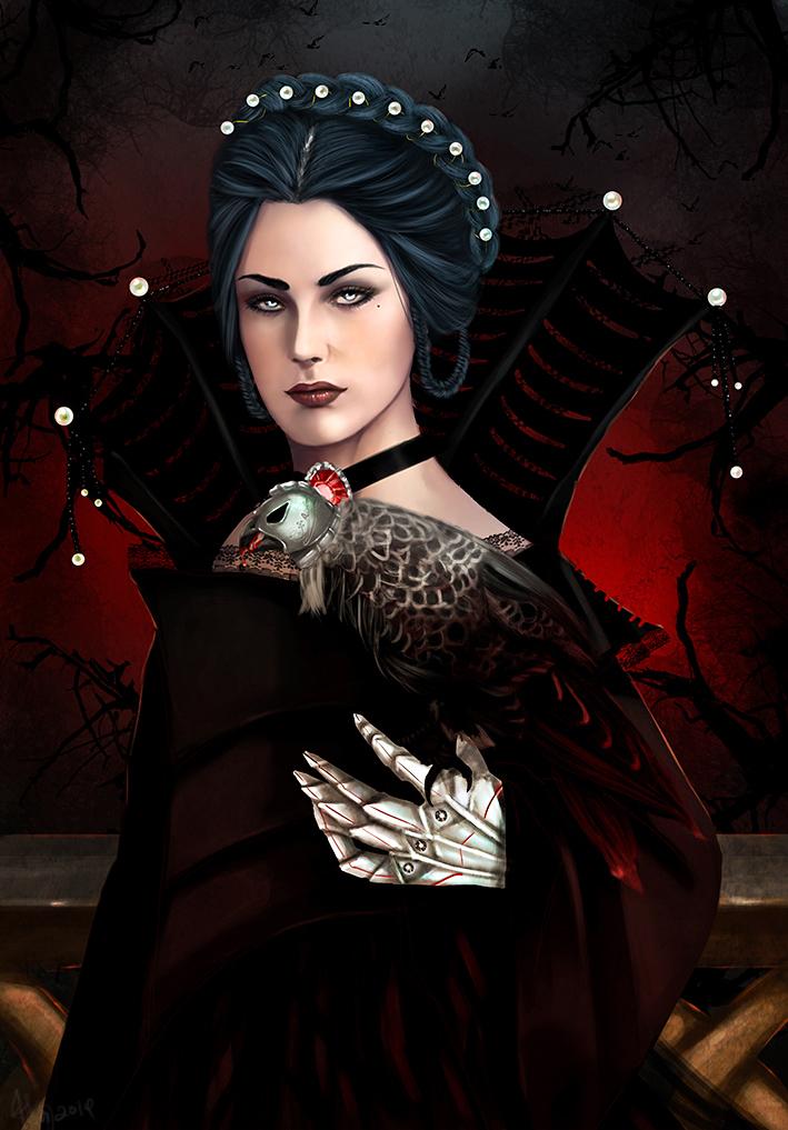 The Vampire Queen Redux by bryzunovrokks