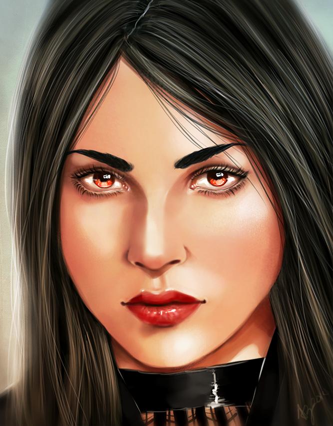 Luna Portrait Concept by bryzunovrokks
