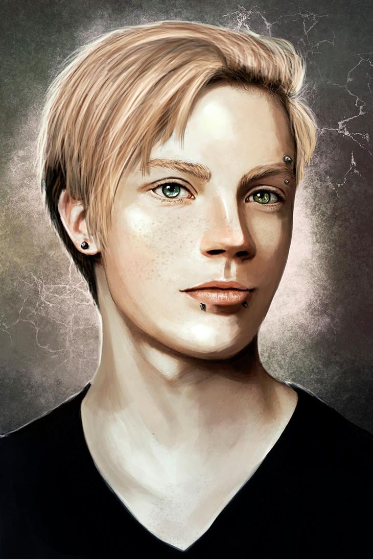 Alex Portrait by bryzunovrokks