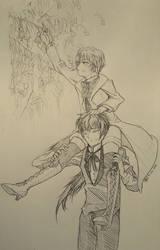 Bluebells and Him by NatsumeKirisawa