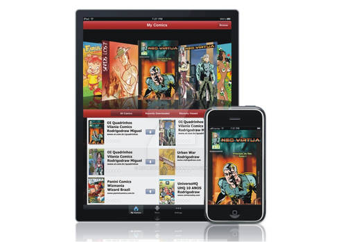 Rodrigodraw: iPad Comics