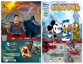 Rodrigodraw: ilustration of DC Comics and Disney