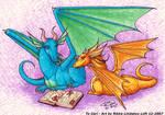 Reading Dragons by Gwennafran