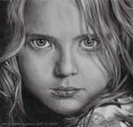 Pastel Pencil Girl