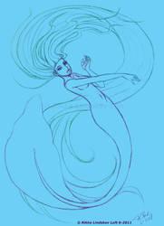 Mermaid Swirl by Gwennafran