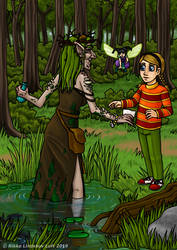 Ellebaet: Kat, Tit and the Bog Lady