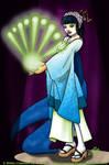 Geisha Anno 2200 by Gwennafran