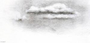 a cloud, sketch