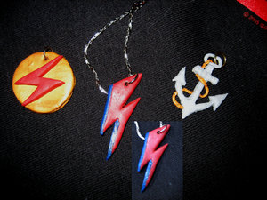 David Bowie inspired necklaces by therealdavidbowie