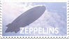 Zeppelin stamp by Meredies