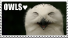 Owl Stamp by Meredies