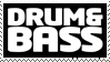 Drum and Bass Stamp by soyu-k