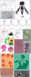 Doodle Dump 64 by Camichuriin