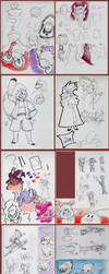 SketchDump 030619 by Camichuriin