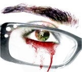 These bloody tears by marjol3in