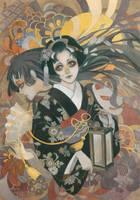 ornament kimono style by RINrumiKA