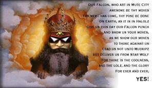 Church of Falcon: Prayer