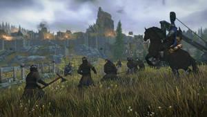 Skyrim - The Battle For Whiterun