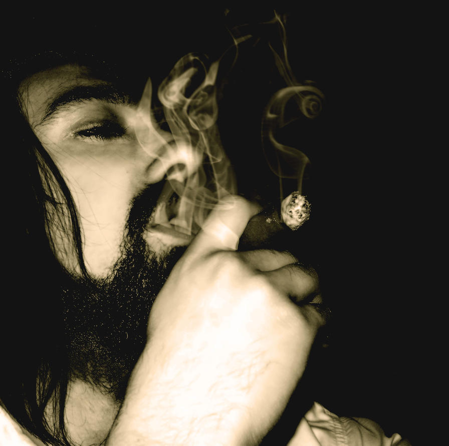 smoke . by psychopathic-jad