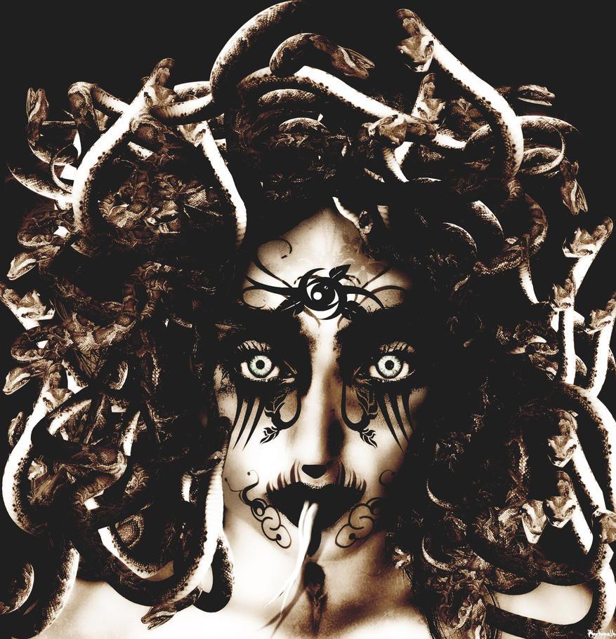 Medusa . by psychopathic-jad