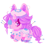 Pony. by 1ockette